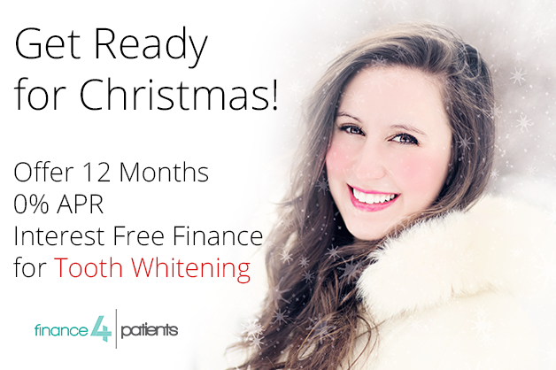 Interest Free Finance for Tooth Whitening at Christmas